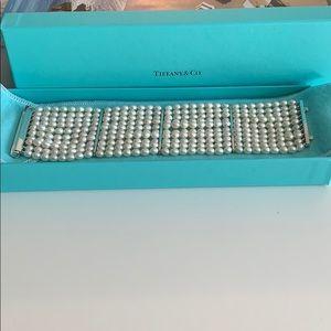 Tiffany & Co. Ziegfeld 10 Row Pearl Bracelet